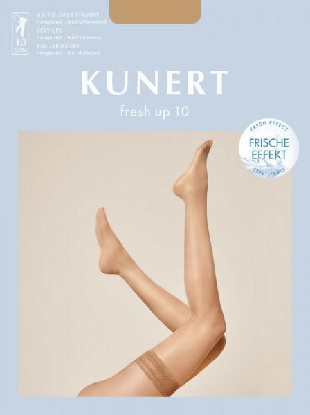 Kunert Fresh Up 10 Halterloser Strumpf (3er Pack)