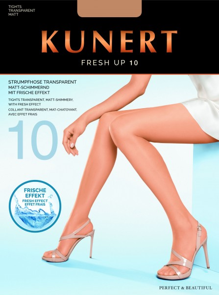 Kunert Fresh Up 10 Strumpfhose (3er Pack)