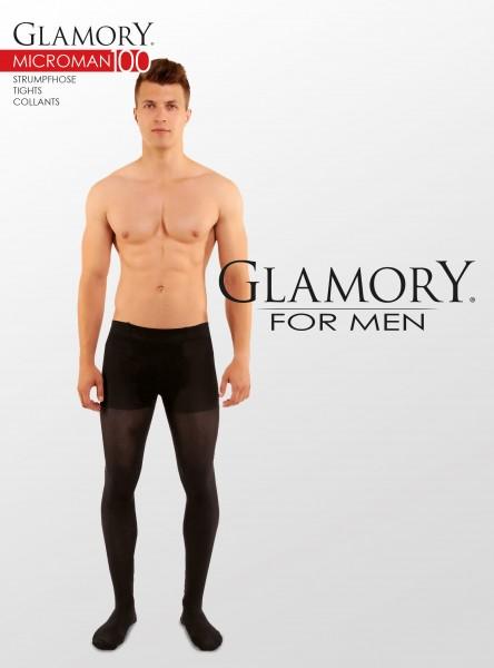 Glamory Microman 100 Herrenstrumpfhose (3er Pack)