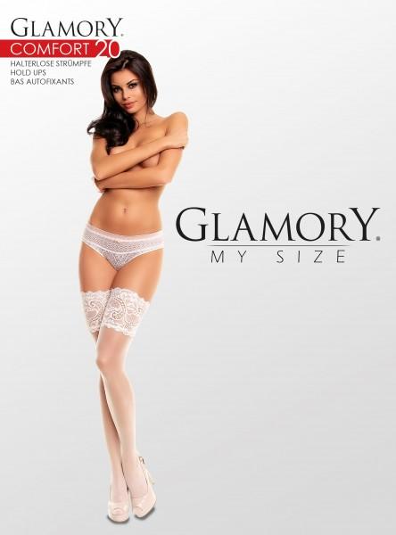 Glamory Comfort 20 Halterlose Strümpfe (3er Pack)