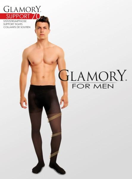Glamory Support 70 Herrenstützstrumpfhose