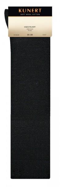 Kunert Soft Wool Cotton Kniestrumpf (3er Pack)