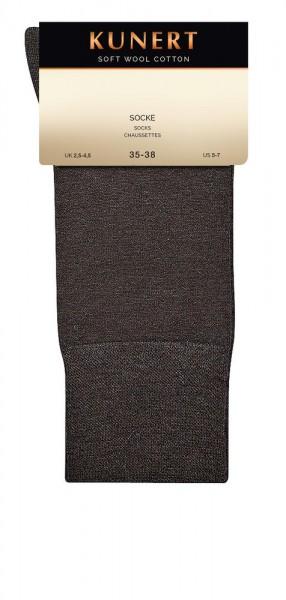 Kunert Soft Wool Cotton Socke (3er Pack)