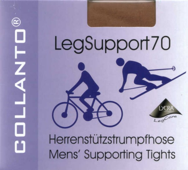 Collanto Leg Support 70 Herrenstrumpfhose