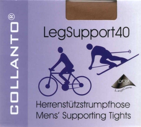 Collanto Leg Support 40 Herrenstrumpfhose