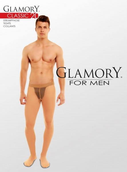 Glamory Classic 20 Herrenstrumpfhose