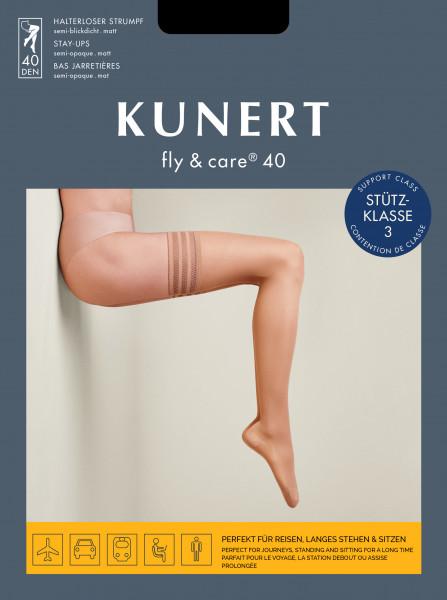 Kunert Fly and Care 40 Halterloser Strumpf
