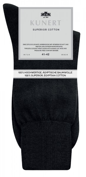 Kunert Superior Cotton Herrensocken (3er Pack)